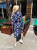 Платье - рубашка, ткань:  штапель.  Размер:С,М. Цвет:синий. (6588), фото 3
