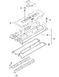 Прокладка клапанной крышки Лачетти 2003-06 1.8i L84, 90501944, GM, фото 4