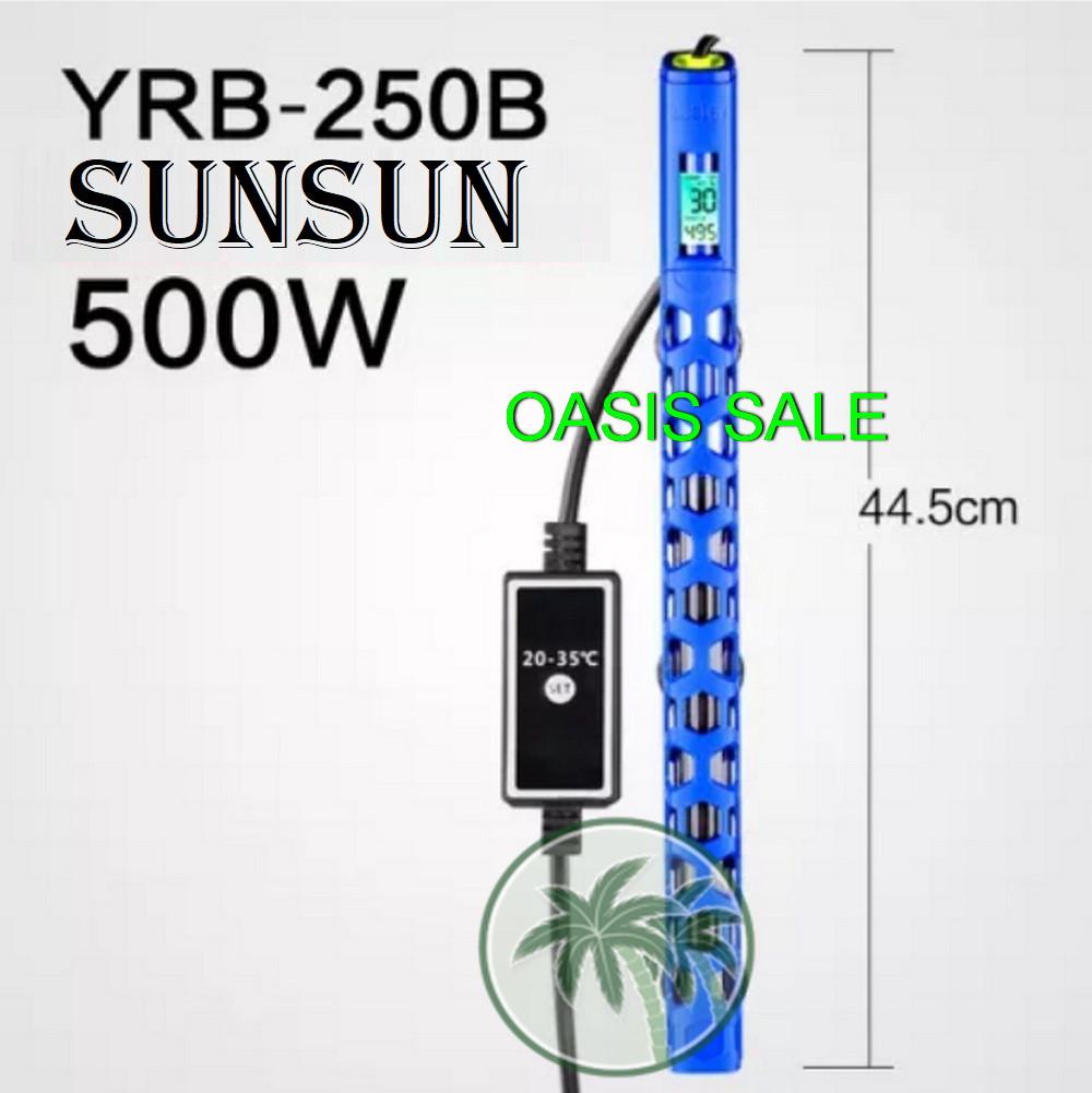 Обогреватель для аквариума SunSun YRB-250B, 500W