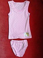 Комплекты трусы+майка Розовый Украина 18В02055-21