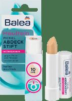 Balea Soft & Clear Abdeckstift Fb. 10 - Антибактериальный маскирующий карандаш для лица, №10, песок, 4,5