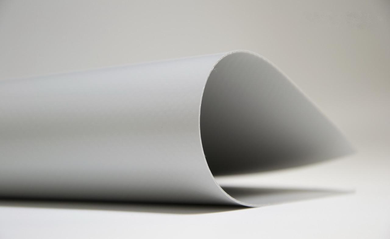 Ткань ПВХ для тента- серая 650 грам/м2- Бельгия