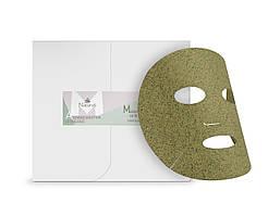 Маска для лица с листьям зеленого чая органическая Naturys,10 шт