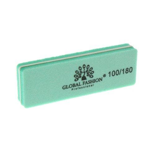 Баф для шліфування нігтів 100/180, колір в асортименті