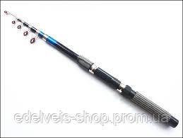 Спиннинг дешевый телескопический 2.1 метра(хорошее качество), фото 2
