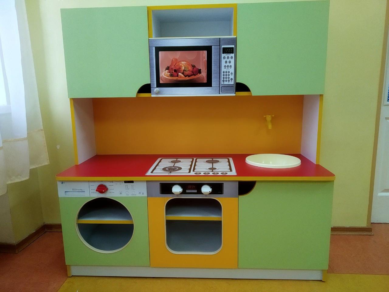 Детская игровая стенка Кухня Малютка. W344
