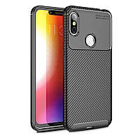 Чехол Carbon Case Motorola P30 Note Черный