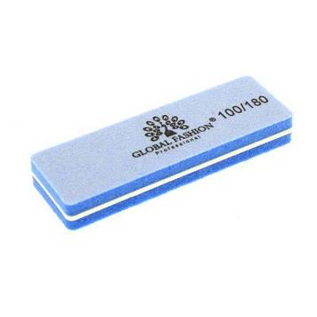 Баф для полировки ногтей BA 07 100/180, цвет в ассортименте