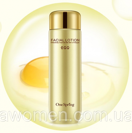 Тоник лосьон One Spring Egg Up Facial Lotion 130 ml