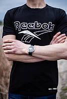 Спортивные футболки Рибок  , на лето, для мужчин