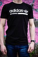 Лёгкая спортивная футболка Адидас, для мужчин