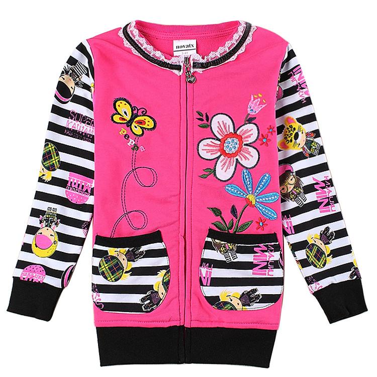 Детская красивая кофта для девочки на молнии 92
