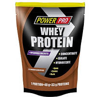 Протеин Whey Protein Power Pro 1 кг (шоколад)
