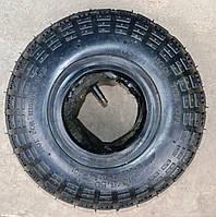 Покрышка (шина, резина) 3.50-4 с камерой для тачки