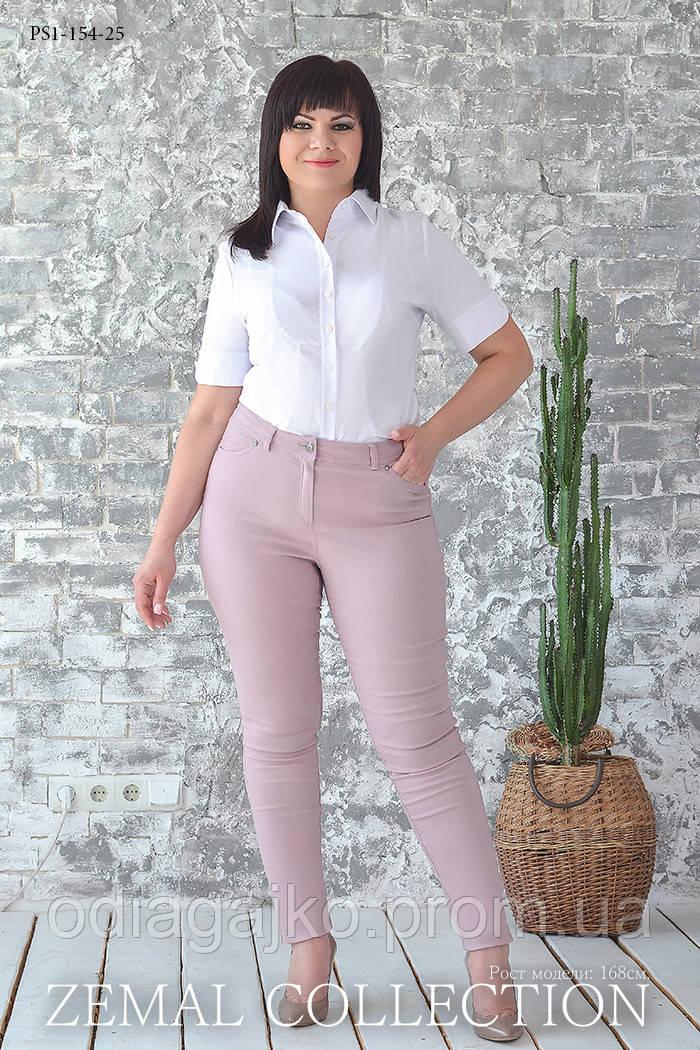 763b98ab2c3f Летние женские брюки стрейч облегающего силуэта в классическом джинсовом  стиле ...