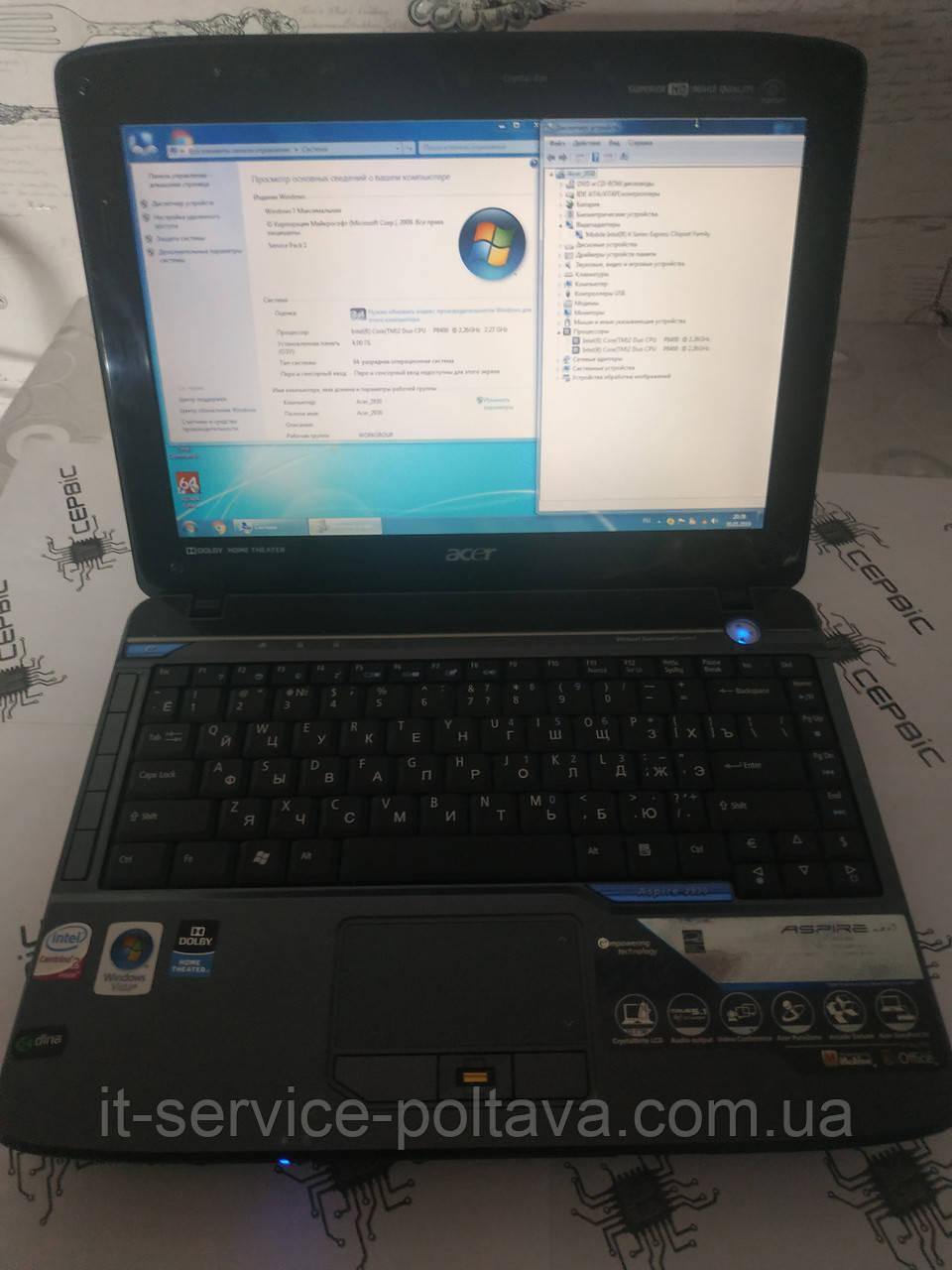 Ноутбук Acer Aspire 2930-844G32Mi