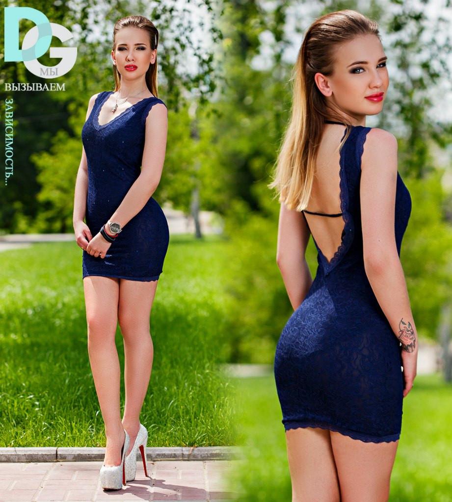 "Д372 Платье ""Кристи"" размер 40-42"