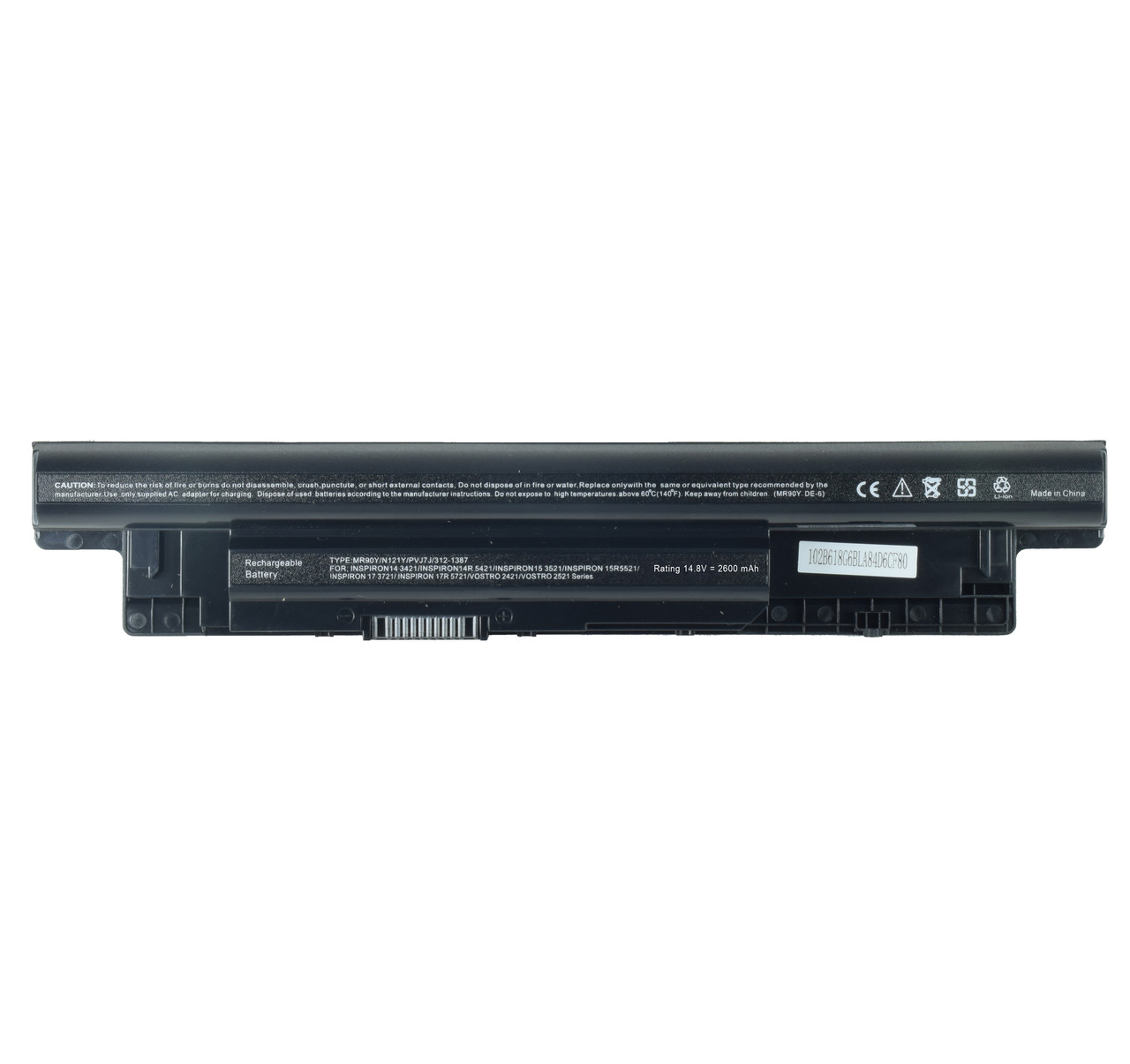 Батарея для ноутбука DELL Inspiron 14-3421 14-3442 14R-5421 14R-5437 15-3521 15-3537 15-3541 14.4 В