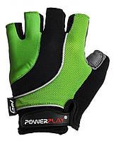 Велоперчатки PowerPlay 5037 L Green