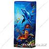 Полотенце пляжное велюр-махра 100% хлопок 70 х140 см. Расцветки в ассортименте