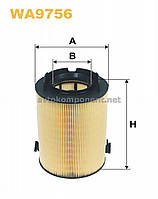 Фильтр воздушный SEAT, SKODA, Volkswagen (производство WIX-Filtron) (арт. WA9756), ABHZX