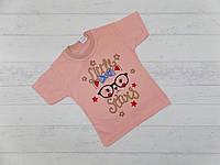 Детская футболка для девочек 1,2,3 года
