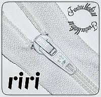 Молния брючная №3 RIRI (Швейцария) белая 21cм