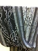 Кашемировый двухсторонний шарф рисунок
