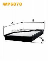 Фильтр салона K1039/WP6878 (производство WIX-Filtron) (арт. WP6878), ADHZX