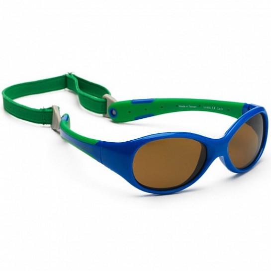 Koolsun Flex - Солнцезащитные очки (0-3 года), цвет сине-зеленые