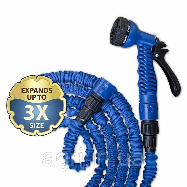 Розтягується шланг TRICK HOSE 5-15 м, синій