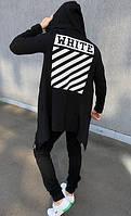 Мантия - кардиган  Off White ( мужская/женская ) 1