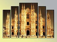 "Модульная картина ""Duomo di Milano"" Модель: 679712"