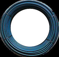 Труба полиэтиленовая техническая Polimersnab 20х1,8мм 6 атм бухта 100м