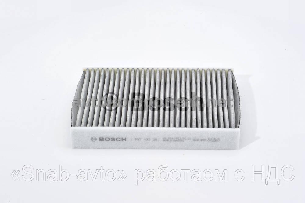 Фильтр салона FORD угольный (производство Bosch) (арт. 1987432387), ABHZX