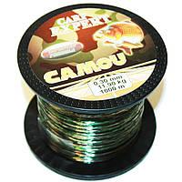 Леска Carp Expert CAMOU 1000m 0.30 мм. (тонущая), фото 1
