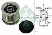 Механизм свободного хода генератора Mercedes-Benz (MB) (производство Ina) (арт. 535 0013 10), AEHZX