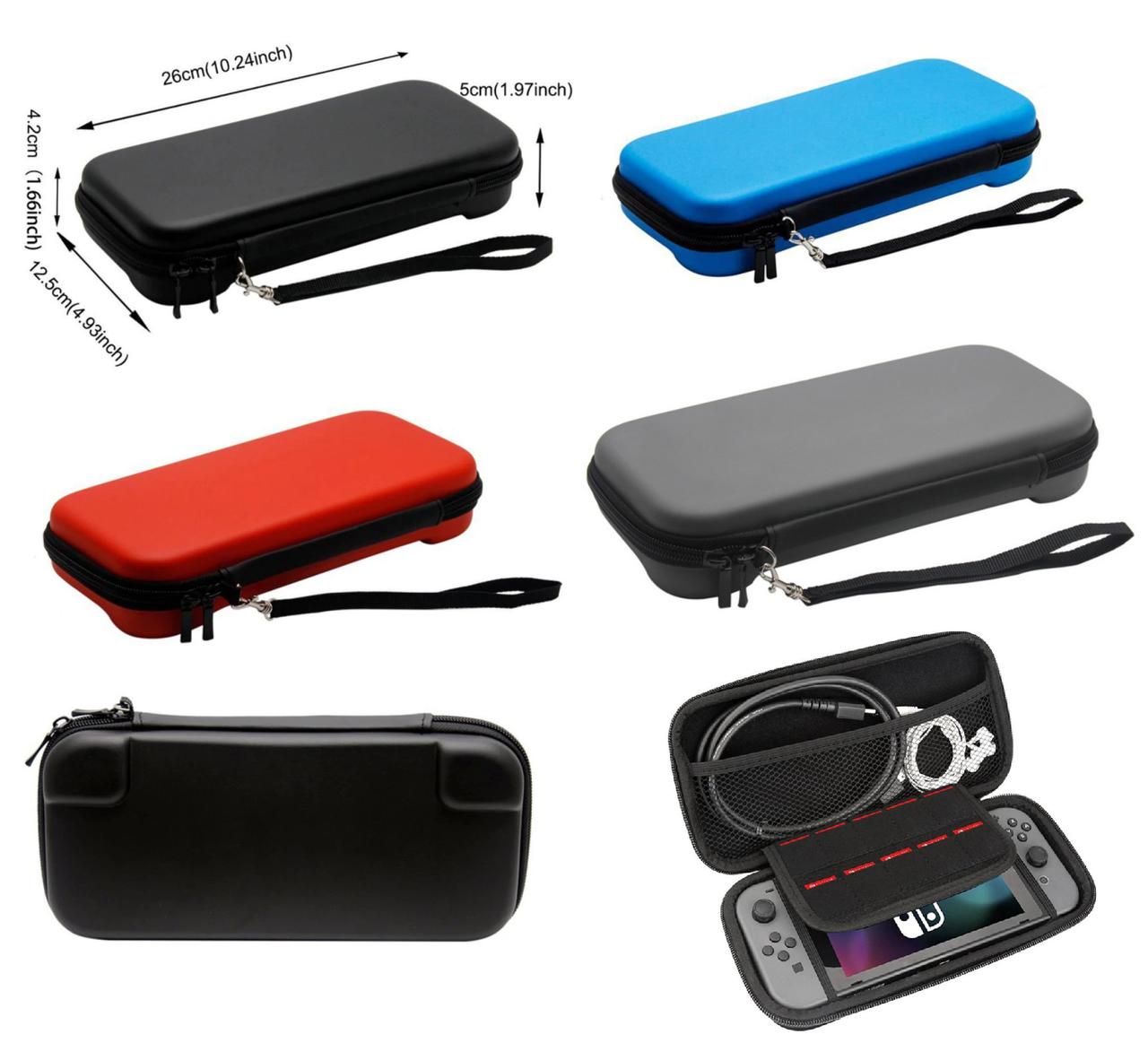 Захисний чохол кейс GameWill для Nintendo Switch ( 4 кольори) / Скла є в наявності /