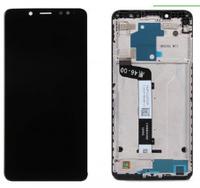 Дисплей (экран) для Xiaomi Redmi Note 5/ Redmi Note 5 Pro + тачскрин, черный, с передней панелью