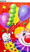 Скатерть Клоун с шарами 1502-0461