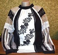 """Жіноча модна блуза """"Розквіт"""""""