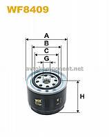 Фильтр топливный WF8409/852/2 (производство WIX-Filtron) (арт. WF8409), ACHZX