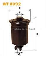 Фильтр топливный MITSUBISHI GALANT WF8092/PP895 (производство WIX-Filtron) (арт. WF8092), ACHZX
