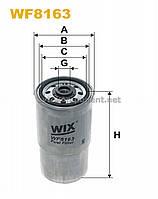 Фильтр топливный BMW E34 WF8163/PP940 (производство WIX-Filtron) (арт. WF8163), ABHZX