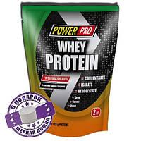 Протеин Whey Protein Power Pro 2 кг (Банан земляника)