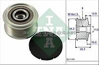 Механизм свободного хода генератора CITROEN, PEUGEOT (производство Ina) (арт. 535 0062 10), AEHZX