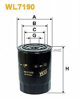Фильтр масляный MITSUBISHI PAJERO WL7199/OP636 (производство WIX-Filtron) (арт. WL7199), ABHZX