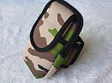 Чохол на руку для смартфонів до 5 дюймів з доп-кишенею колір хакі casearm0020 SKU0000167, фото 3