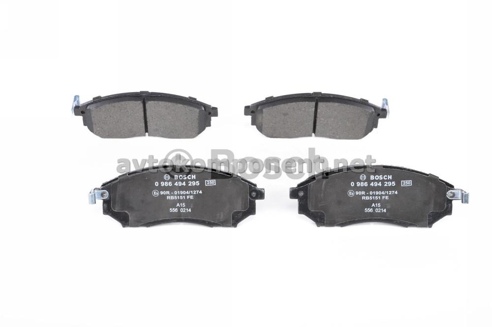 Тормозные колодки (производство Bosch) (арт. 0 986 494 295), AEHZX