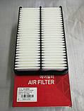 Фільтр повітряний кіа Церато 1 2.0 i, KIA Cerato 2004-2007 LD, H01-KA519, 281132f000, фото 2